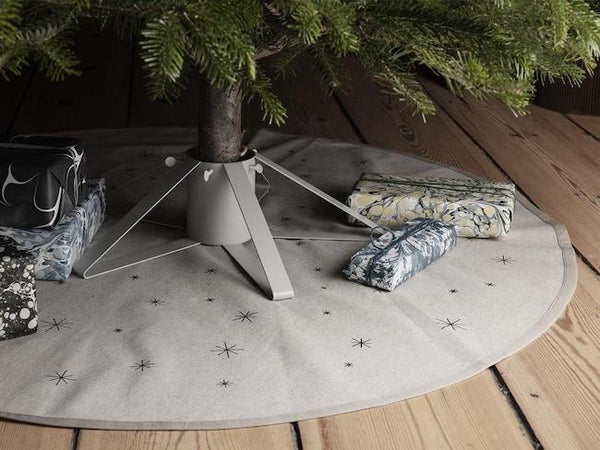 Ferm Living Star Christmas Tree Blanket - Sand
