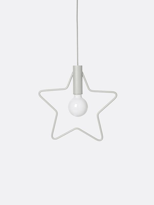 Ferm Living Star Pendant Light - Grey