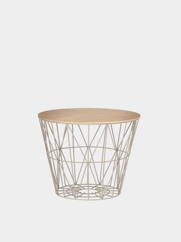 Ferm Living Wire Basket - Mint Medium