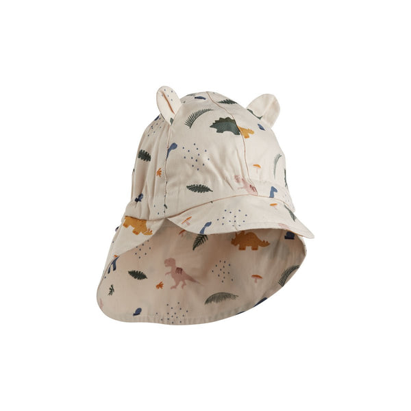 Liewood Gorm Sun Hat in Dino Mix - scandibornusa