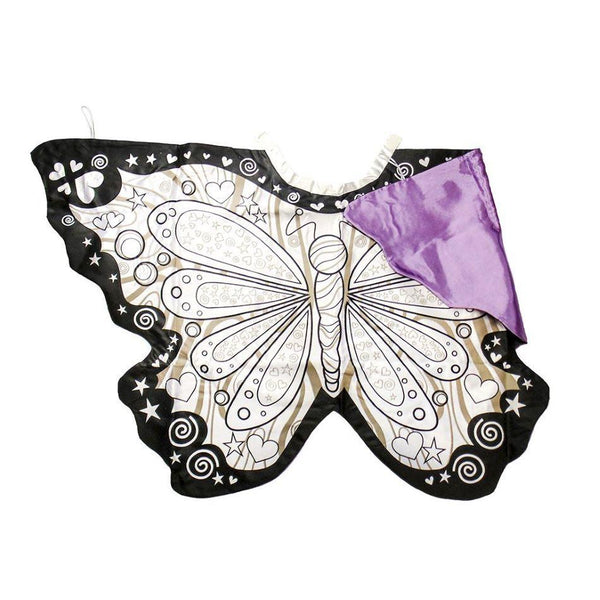 Great Pretenders Colour-A-Cape Butterfly Wings