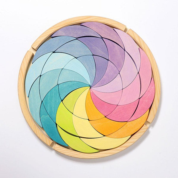 Grimm's Pastel Colour Spiral - Small