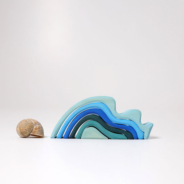 Grimm's Waterwaves Wooden Toy - Small