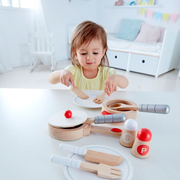 Hape Cook n Serve Playset
