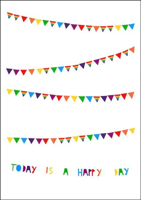 Ingrid Petrie Happy Day Print Colour