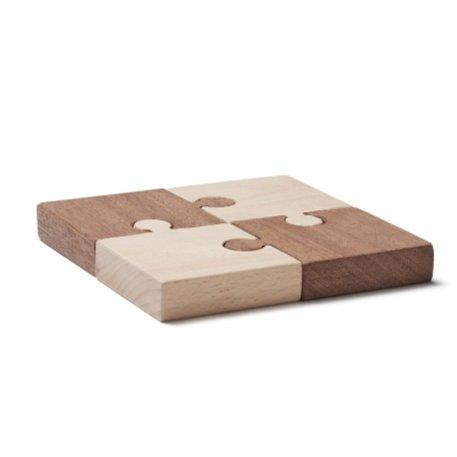 Kids Concept - 4 Piece Puzzle in Nature Neo