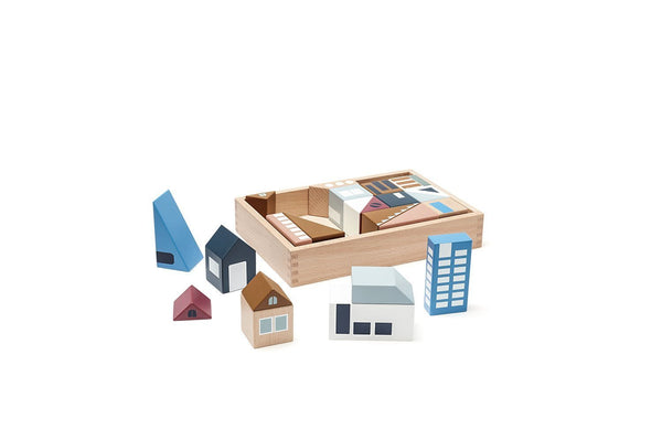 Kids Concept - Aiden City Wooden Blocks
