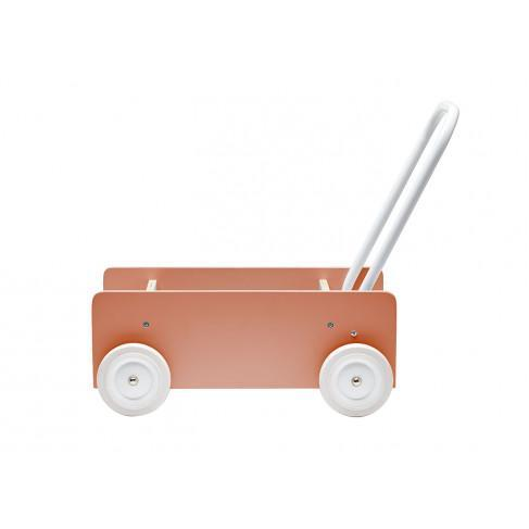 Kids Concept Baby Walker in Dark Apricot