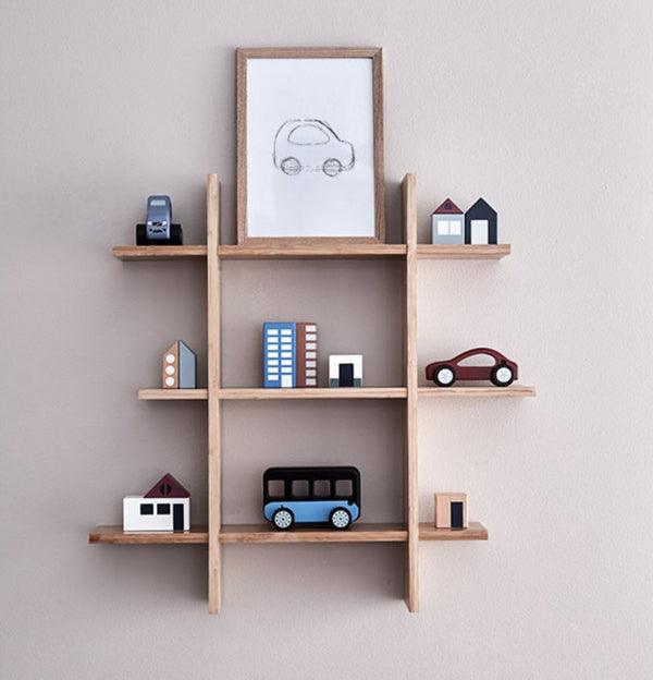 Kids Concept Bamboo Wall Shelf