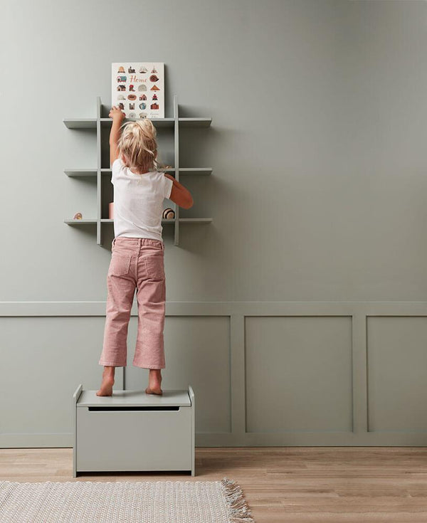 Kids Concept Pastel Wall Shelf