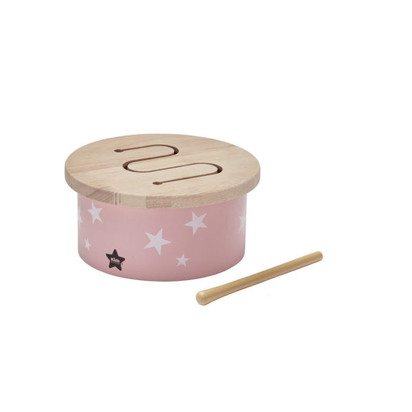 Kids Concept - Pink Wooden Drum