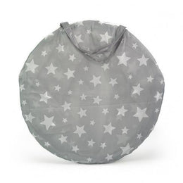 Kids Concept Play Tunnel in Star Grey