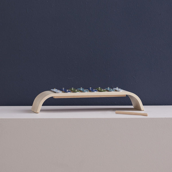 Kids Concept - Plywood Xylophone in Blue