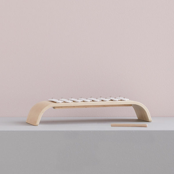 Kids Concept - Plywood Xylophone in White