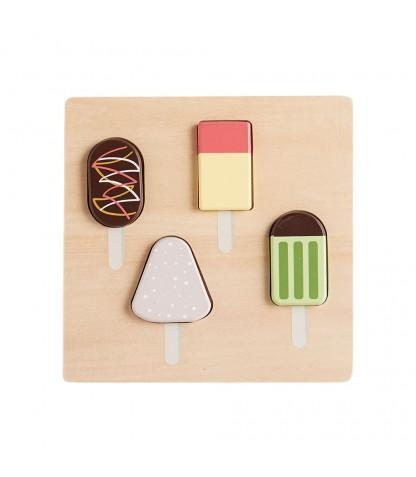 Kids Concept - Puzzle Ice Cream Bisto