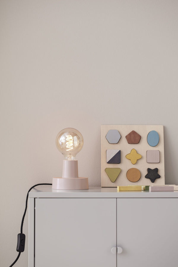 Kids Concept Table / Wall Lamp in Pink
