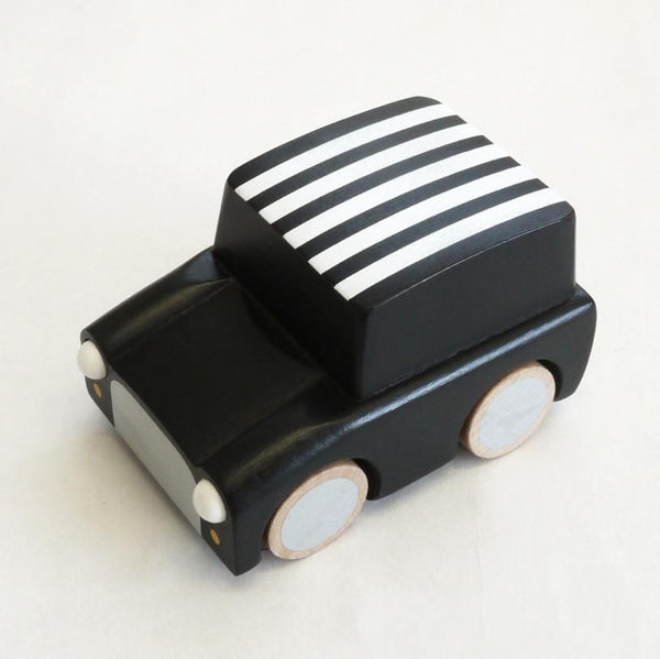 Kiko & GG Karuma Wind Up Car - Stripes / Black