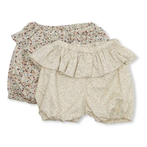 Konges Slojd Bloomers for Girl in Louloudi / Melodie (2 Pack)