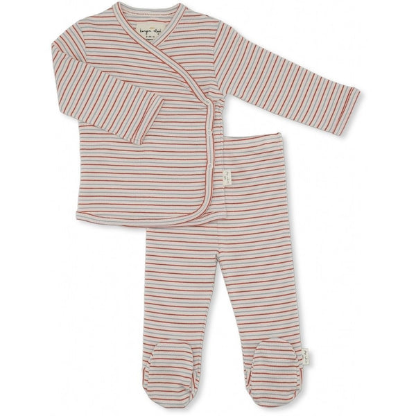 Konges Slojd Dio Two piece Set in Tricolore Stribes
