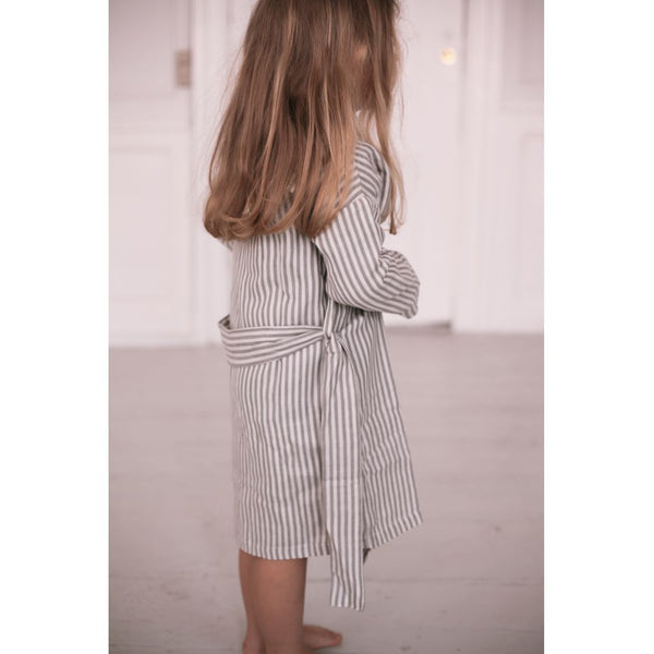 Konges Slojd - Kid's Muslin Bathrobe in Striped