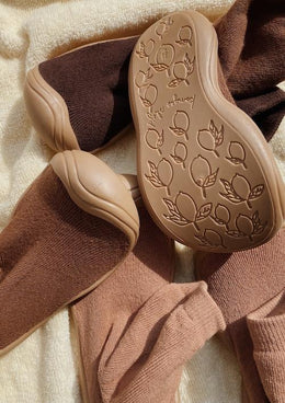 Konges Slojd Sock Slippers in Almond