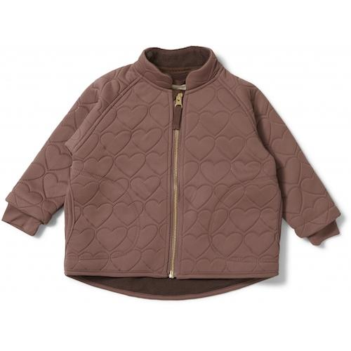 Konges Slojd Thermo Jersey Jacket in Cinnamon