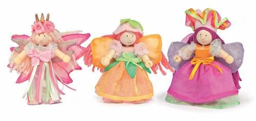 Le Toy Van Budkins Garden Fairies Set