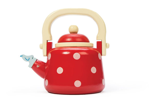 Le Toy Van Dotty Kettle with Detachable Lid