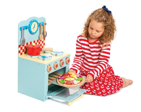 Le Toy Van - Oven & Hob Set in Blue