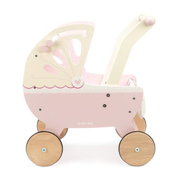 Le Toy Van Pram Sweet Dreams Pram in Pink