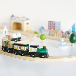 Le Toy Van - Royal Express Wooden Train Set