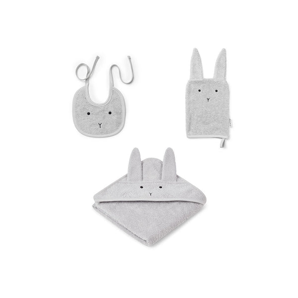 Liewood Adele Terry Baby Pack in Rabbit Rose