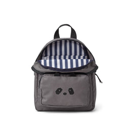 Liewood Allan Backpack in Panda Stone Grey
