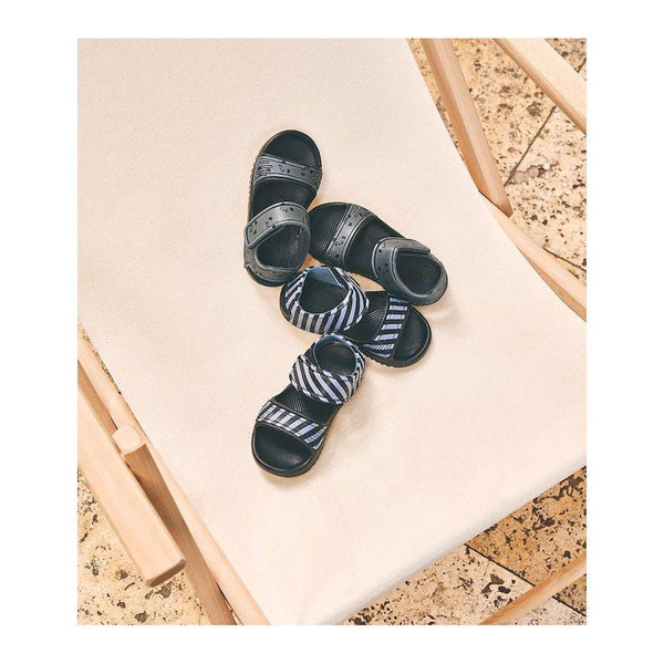 Liewood Blumer Sandals in Panda Stone Grey