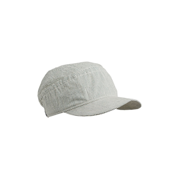 Liewood Charles Soft Cap Stripe Sea Blue/Creme