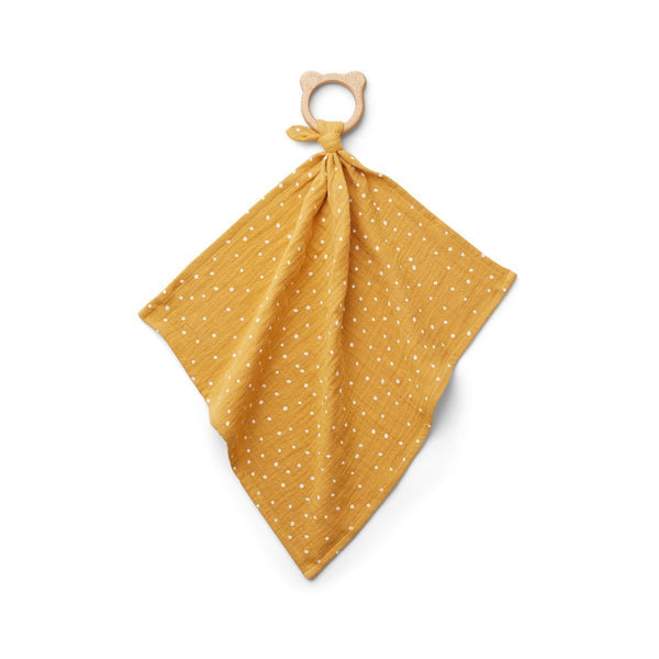 Liewood Dines Teether Cuddle Cloth - Confetti Yellow