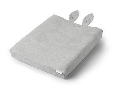 Liewood Egon Changing Mat Cover in Rabbit Dumbo Grey