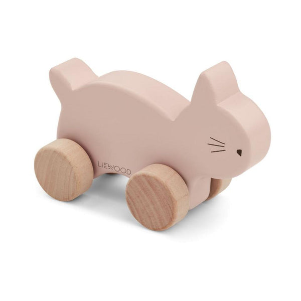 Liewood Elena Wood Toy Cat Rose