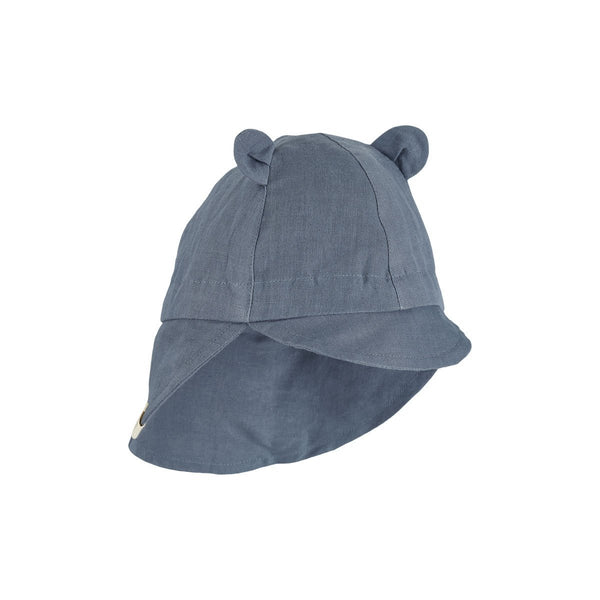 Liewood Eric Sun Hat in Blue Wave