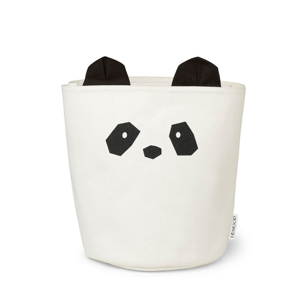 Liewood Fabric Panda Basket - Two Sizes Available