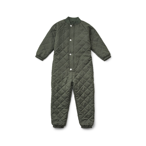 Liewood Frankie Thermo Jumpsuit in Hunter Green (0-3Y)