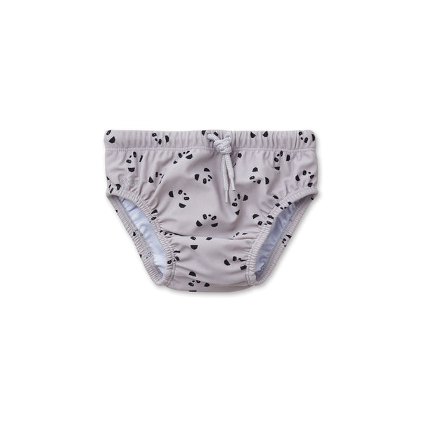 Liewood Frej baby boy swim pants Panda Dumbo Grey