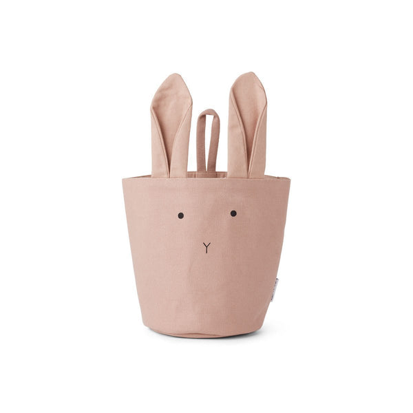 Liewood Ib Fabric Basket - Rabbit Rose