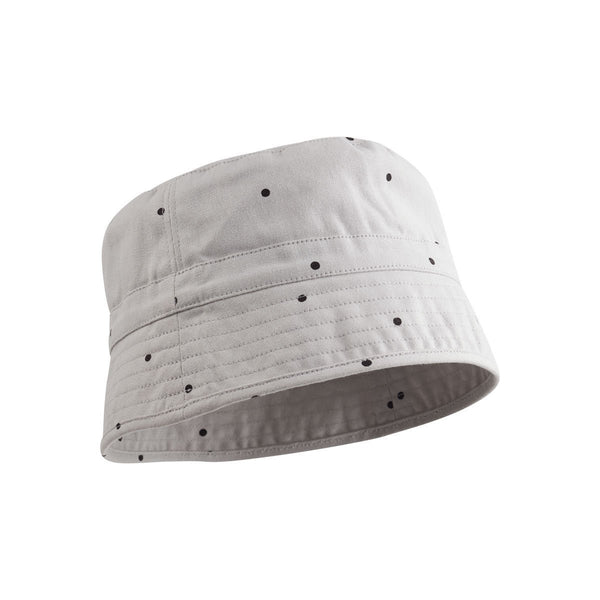 Liewood Jack Bucket Hat in Classic Dot Dumbo Grey
