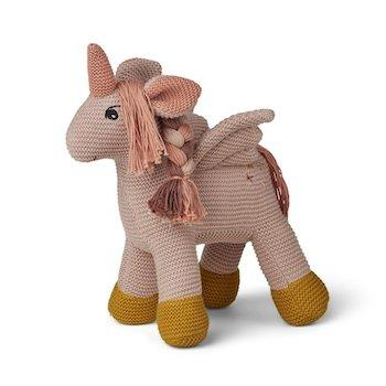 Liewood Knit Teddy - Adiana Unicorn Sorbet Rose