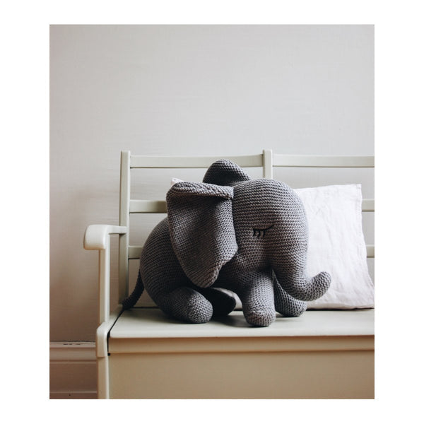 Liewood Knit Teddy - Dextor Elephant Grey