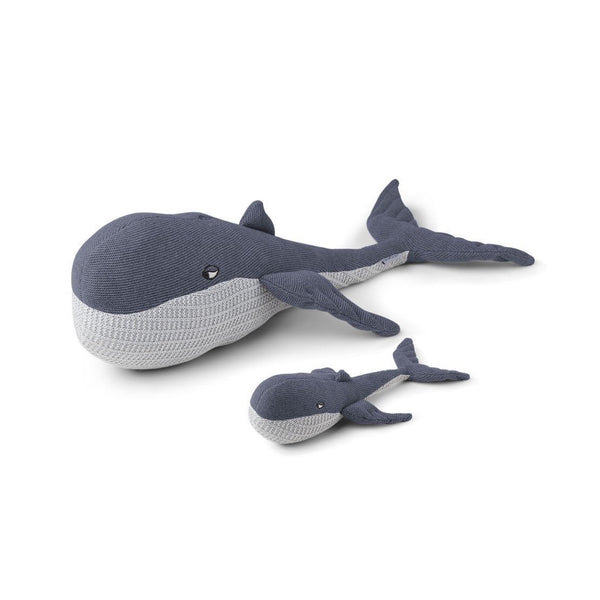 Liewood Knit Teddy - Doby the Whale & Baby Blue Wave