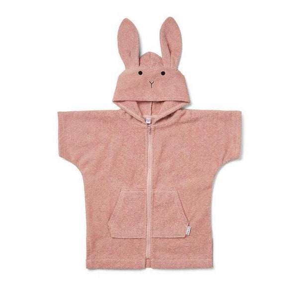 Liewood Lela Bath Cape - Rabbit Rose