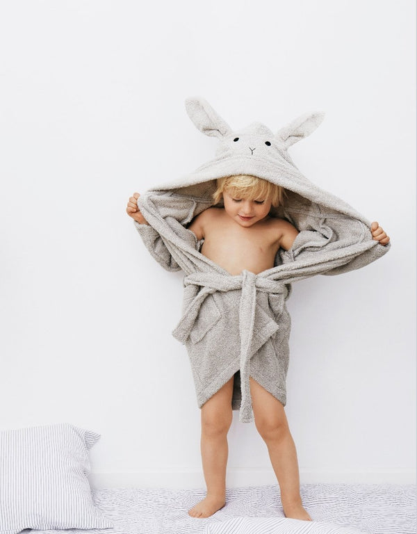 Liewood Lily Bathrobe Rabbit Dumbo Grey