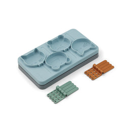 Liewood Manfred Ice Pop Mould - Classic Blue Multi Mix